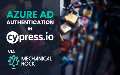 featured image thumbnail for post Azure AD Authentication in Cypress Tests